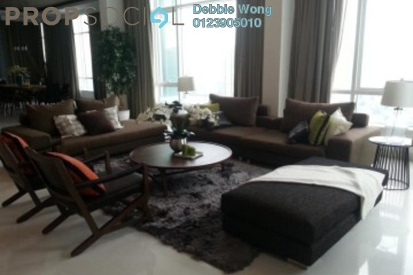 For Sale Serviced Residence at Verticas Residensi, Bukit Ceylon Freehold Fully Furnished 5R/6B 5.6m