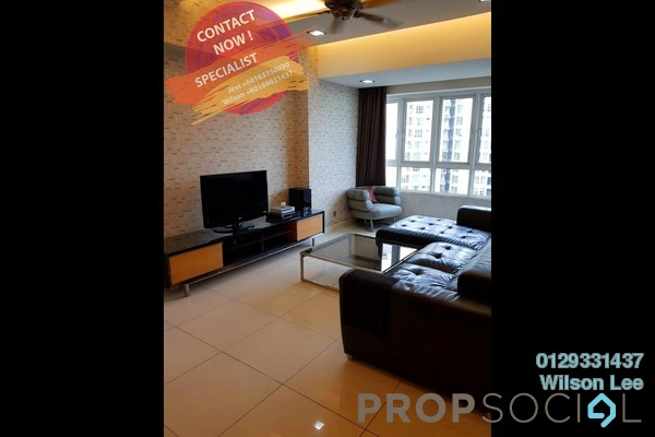 For Rent Condominium at Tiffani Kiara, Mont Kiara Freehold Fully Furnished 2R/2B 4.5k