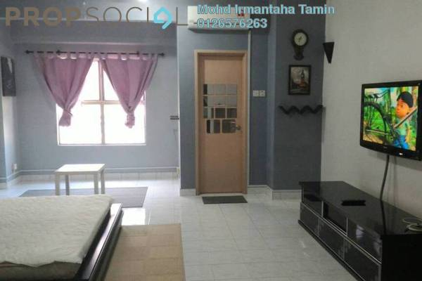For Sale Apartment at Brunsfield Riverview, Shah Alam Freehold Semi Furnished 1R/1B 210k