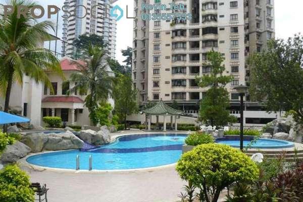For Rent Condominium at Bukit Robson Condominium, Seputeh Freehold Semi Furnished 1R/1B 2.1k