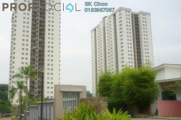 For Sale Condominium at Aman Heights, Seri Kembangan Freehold Fully Furnished 3R/2B 480k