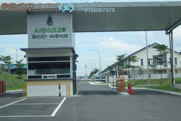 For Sale Terrace at Bangi Avenue, Kajang Freehold Unfurnished 4R/3B 580k