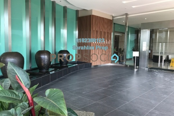 For Rent Condominium at Mercury Serviced Apartment @ Sentul Village, Sentul Freehold Unfurnished 3R/2B 1.5k