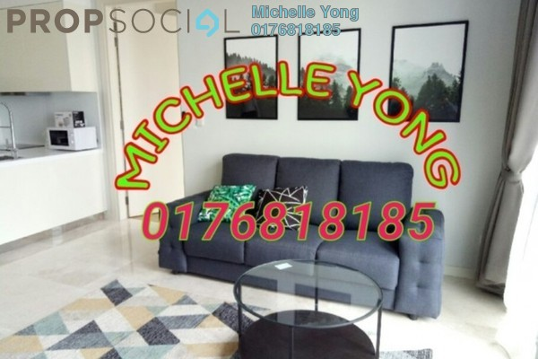 For Rent Apartment at KL Eco City, Mid Valley City Freehold Fully Furnished 2R/2B 4k