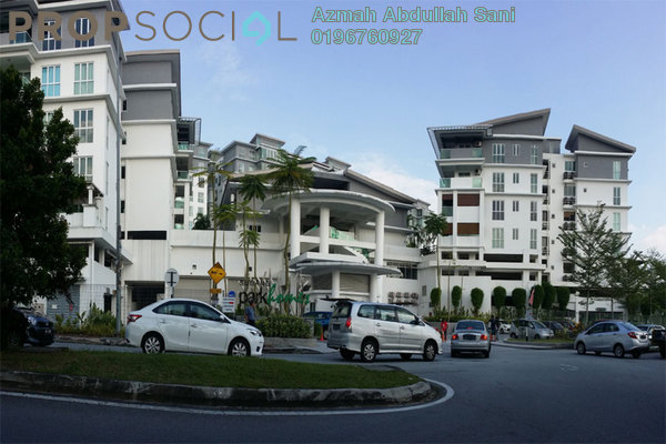 For Sale Condominium at Subang Parkhomes, Subang Jaya Freehold Semi Furnished 3R/2B 799k