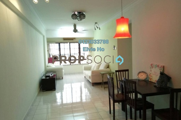 For Sale Condominium at Bayu Tasik 1, Bandar Sri Permaisuri Freehold Semi Furnished 2R/2B 385k