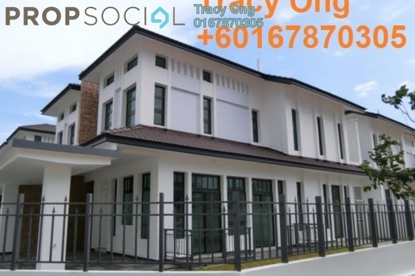 For Sale Semi-Detached at Eco Botanic, Skudai Freehold Fully Furnished 5R/5B 1.28m