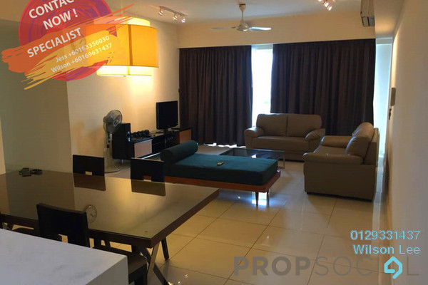 For Sale Condominium at Tiffani Kiara, Mont Kiara Freehold Fully Furnished 3R/3B 1.3m