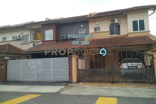 For Sale Terrace at Taman Sejati 5, Klang Freehold Semi Furnished 4R/3B 420k