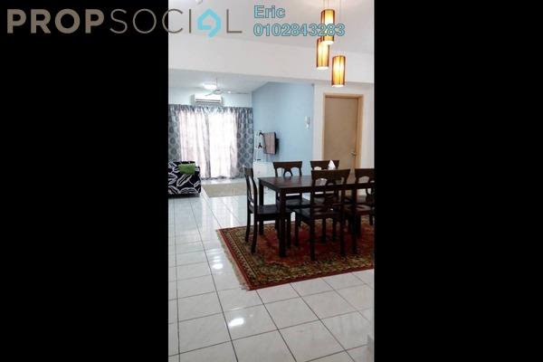 For Rent Condominium at Sri Lavender Apartment, Kajang Freehold Fully Furnished 3R/2B 1.15k