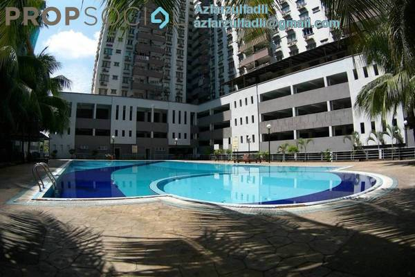 For Sale Condominium at Kinrara Mas, Bukit Jalil Freehold Semi Furnished 4R/2B 520k