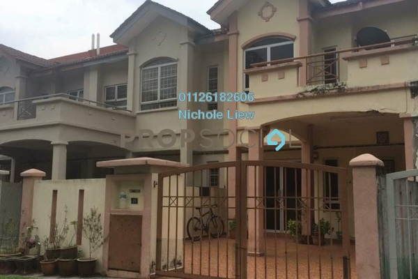 For Sale Terrace at Taman Sejati 5, Klang Freehold Semi Furnished 4R/3B 419k