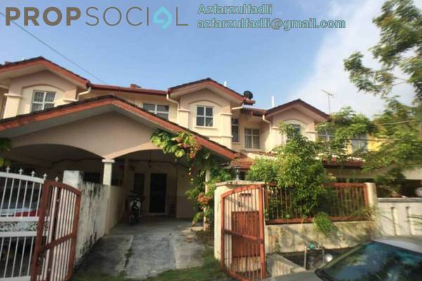 For Sale Terrace at Taman Prima Tropika, Bandar Putra Permai Freehold Unfurnished 5R/3B 580k