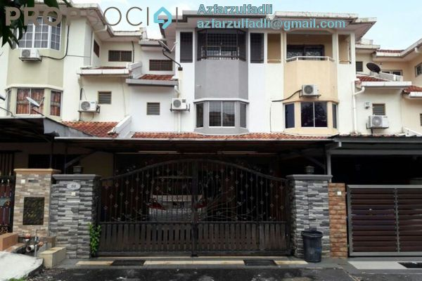 For Sale Terrace at Taman Kota Perdana, Bandar Putra Permai Freehold Unfurnished 5R/3B 665k