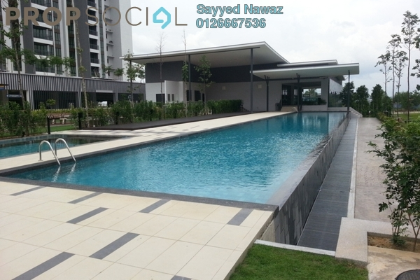For Sale Condominium at Serin Residency, Cyberjaya Freehold Semi Furnished 4R/5B 548k
