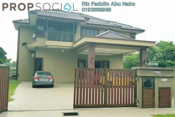 For Sale Bungalow at Section 8, Shah Alam Freehold Semi Furnished 5R/6B 2.5m