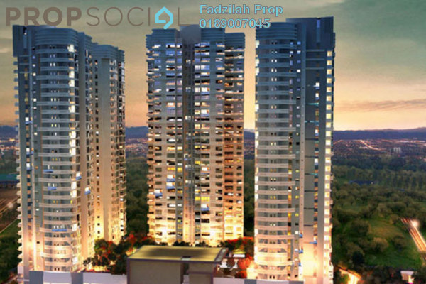 For Sale Condominium at Concerto Kiara, Dutamas Freehold Semi Furnished 3R/4B 1.3m