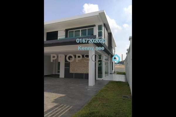 For Sale Semi-Detached at Wira Heights, Bandar Sungai Long Freehold Unfurnished 5R/5B 1.88m