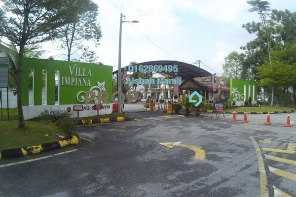 For Sale Terrace at Taman Pelangi Semenyih, Semenyih Freehold Semi Furnished 4R/3B 415k