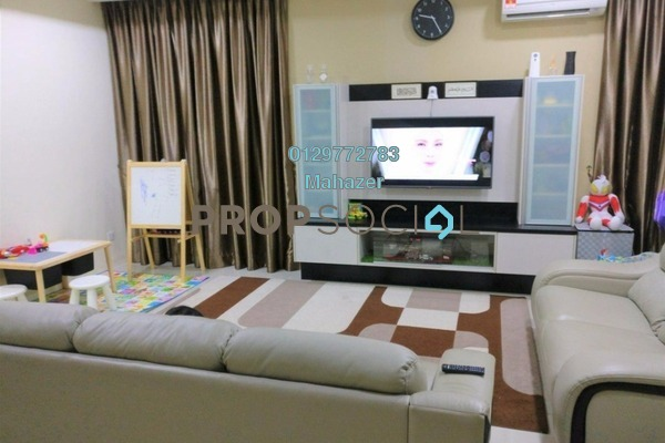 For Sale Semi-Detached at Royal Ivory, Bandar Saujana Putra Freehold Unfurnished 4R/3B 585k