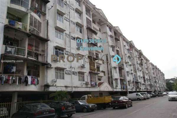For Rent Apartment at Greenview Apartment, Kepong Freehold Unfurnished 3R/2B 1k