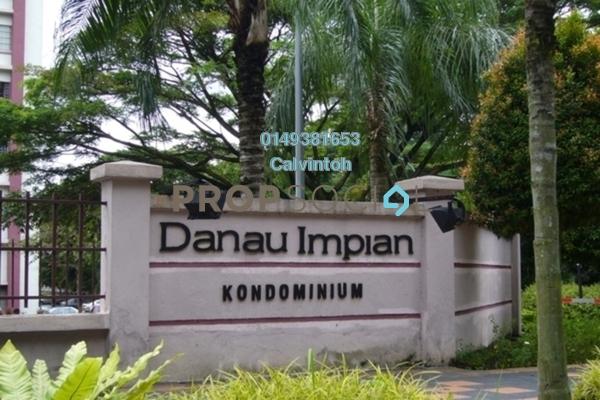 For Rent Condominium at Danau Impian, Taman Desa Freehold Semi Furnished 3R/2B 1.2k
