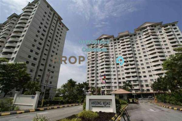 For Rent Condominium at Anjung Hijau, Bukit Jalil Freehold Fully Furnished 3R/2B 1.3k