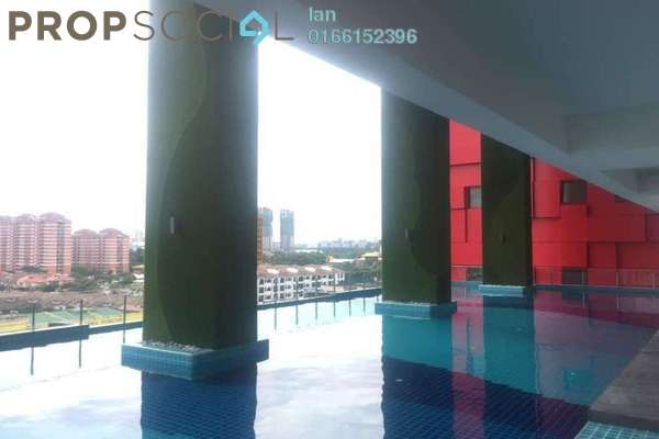 For Rent Condominium at Cube @ One South, Seri Kembangan Freehold Fully Furnished 1R/1B 1.6k