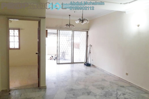 For Sale Terrace at Pandan Indah, Pandan Indah Freehold Semi Furnished 3R/2B 536k
