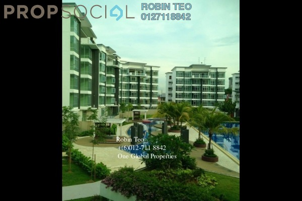 For Rent Condominium at Taman Sutera Utama, Skudai Freehold Fully Furnished 4R/3B 2.5k