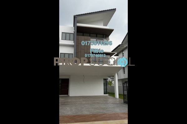 For Sale Superlink at Cahaya Alam, Shah Alam Freehold Unfurnished 6R/6B 2.2m