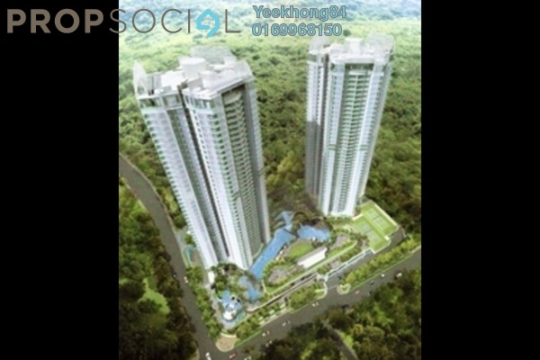 For Rent Serviced Residence at 28 Mont Kiara, Mont Kiara Freehold Fully Furnished 5R/4B 8.5k