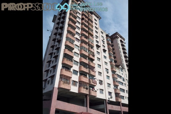 For Sale Apartment at Villa Angkasa, Sentul Freehold Unfurnished 3R/3B 380k
