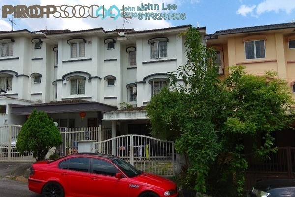 For Sale Terrace at Taman Bukit Permata, Batu Caves Freehold Semi Furnished 4R/3B 900k