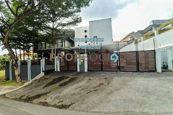 For Sale Bungalow at Section 8, Shah Alam Freehold Fully Furnished 6R/7B 3.5m
