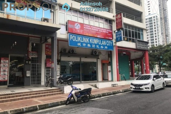 For Sale Shop at Plaza Prima Setapak, Setapak Freehold Unfurnished 0R/2B 850k