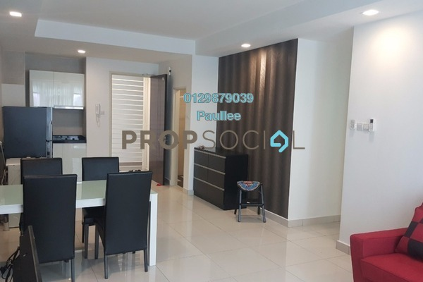 For Rent Condominium at Central Residence, Sungai Besi Freehold Fully Furnished 2R/2B 1.8k