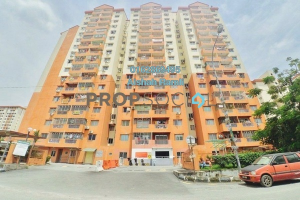 For Sale Apartment at Sri Raya Apartment, Kajang Freehold Unfurnished 3R/2B 260k