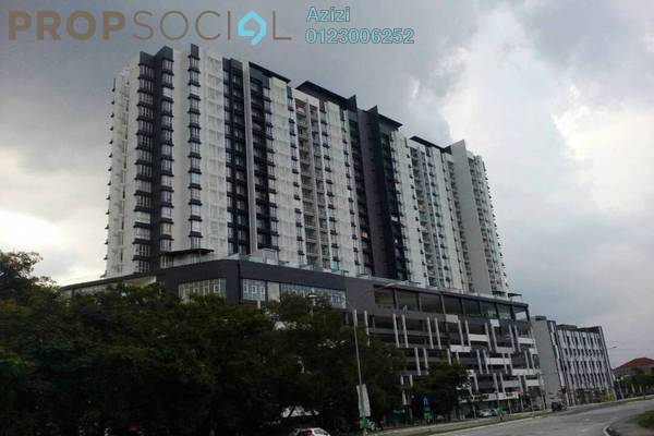 For Sale Condominium at Symphony Residence, Kajang Leasehold Unfurnished 3R/2B 308k