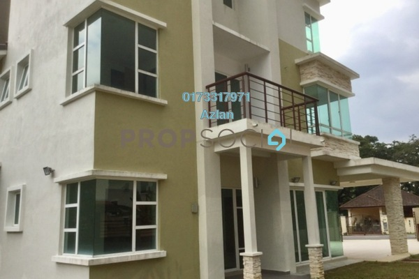 For Sale Semi-Detached at Taman Hulu Langat Jaya, Batu 9 Cheras Freehold Unfurnished 7R/6B 1.3m