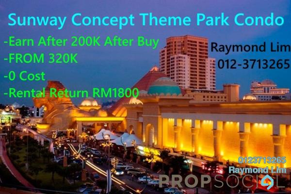 For Sale Condominium at SS19, Subang Jaya Freehold Semi Furnished 3R/2B 190k