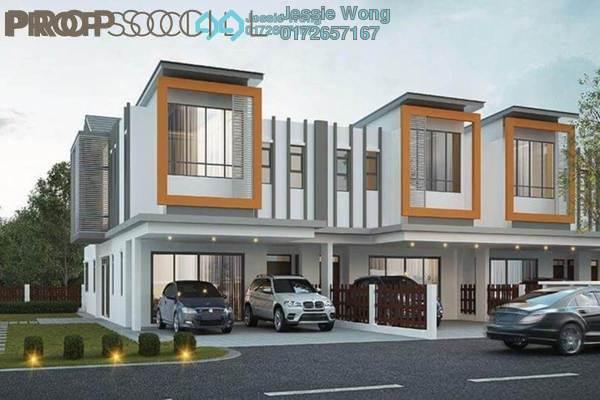 For Sale Terrace at Cyberia Crescent 1, Cyberjaya Freehold Semi Furnished 4R/4B 528k
