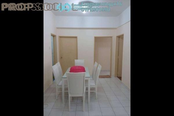 For Sale Condominium at Taman Wangsa Permai, Kepong Freehold Semi Furnished 3R/2B 320k