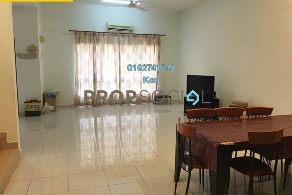 For Sale Terrace at Taman Prima Tropika, Bandar Putra Permai Freehold Semi Furnished 4R/3B 730k