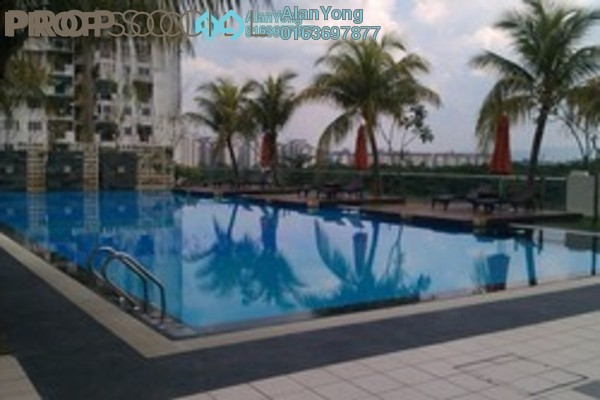 For Rent Condominium at Rivercity, Sentul Freehold Fully Furnished 3R/3B 2.2k