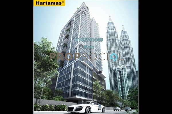 For Sale Condominium at One KL, KLCC Freehold Fully Furnished 3R/4B 5m