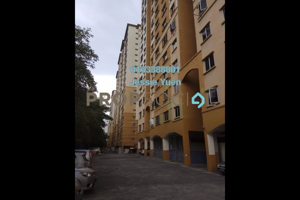 For Rent Apartment at Pelangi Apartment, Mutiara Damansara Freehold Unfurnished 3R/2B 1.15k