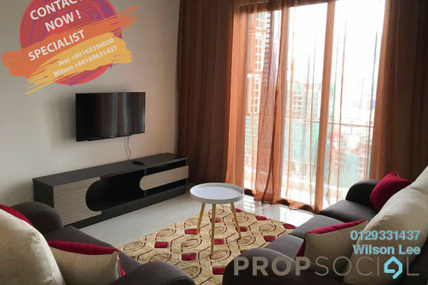For Rent Condominium at South View, Bangsar South Freehold Fully Furnished 3R/2B 3.9k