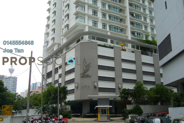 For Rent Condominium at Binjai Residency, KLCC Freehold Semi Furnished 3R/2B 7k
