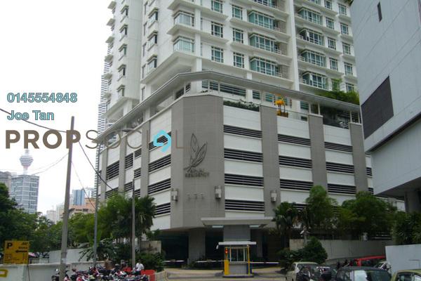 For Rent Condominium at Binjai Residency, KLCC Freehold Semi Furnished 3R/2B 7k